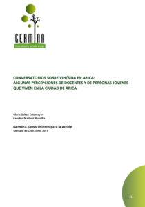 portada Conversatorios sexualidad_género VIHSIDA docentes jóvenes arica 2013 Germina Unesco