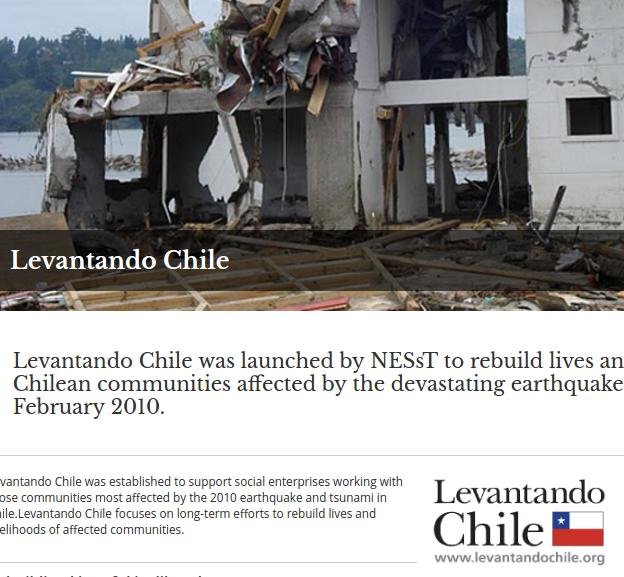 27F: Sistematización programa Levantando Chile de NESsT