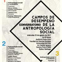 Inscripciones Conversatorio: Campos de desempeño de la antropología social