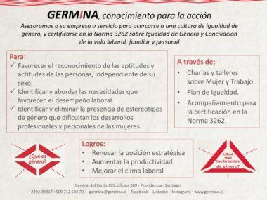 Asesorías para la certificación en la Norma 3262 sobre Igualdad de Género y Conciliación de la vida laboral, familiar y personal